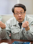 「みどり会」の会長を務める長津工業の津田繁男社長。