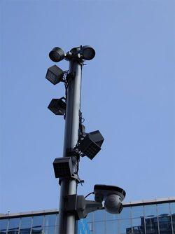 圧倒的な数の監視カメラ