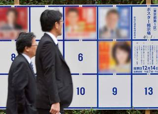選挙ポスターの写真を修正してもいいのか