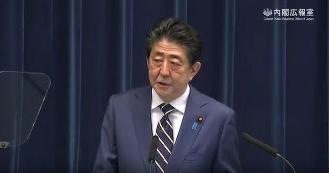 安倍内閣総理大臣記者会見=令和2年3月28日