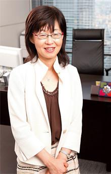 大和証券グループ本社 執行役 広報担当 CSR室 兼 総務部管轄植原恵子
