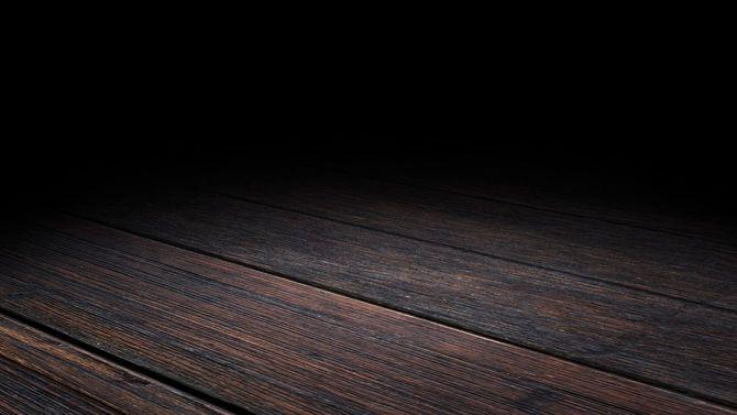 暗がりで見える床