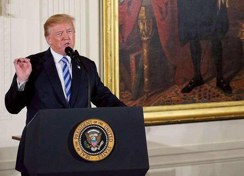 """""""トランプのアメリカ""""は混乱のさなかだ 米国は今や分裂した""""内戦状態"""""""