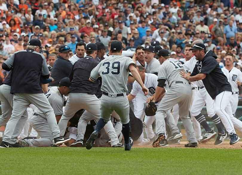 野球の乱闘にメジャー選手が積極的なワケ 「やられたらやり返す」精神の徹底