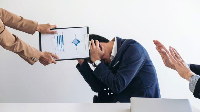 ビジネスチーム内で争いに発展