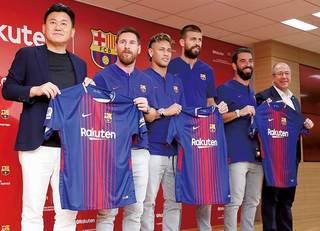 楽天はなぜバルセロナと契約を結んだか