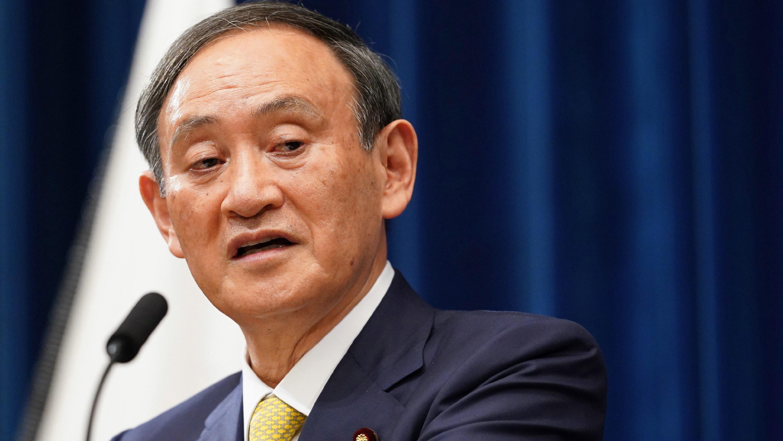 首相 写真 菅 息子