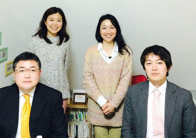 プロジェクトに参加するメンバーの予定がなかなか合わず、2回に分けてキックオフミーティングを実施した。後列左が平野さん