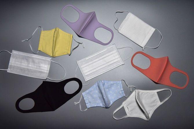 マスクの種類によって機能は大きく異なる